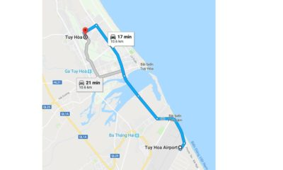 Vé máy bay đi Tuy Hòa giá rẻ