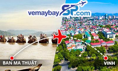 Vé máy bay Buôn Ma Thuột đi Vinh