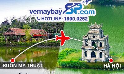 Vé máy bay Buôn Ma Thuột đi Hà Nội