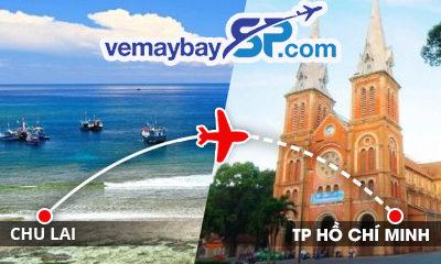 Vé máy bay Chu Lai đi Hồ Chí Minh