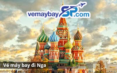 vé máy bay đi Nga