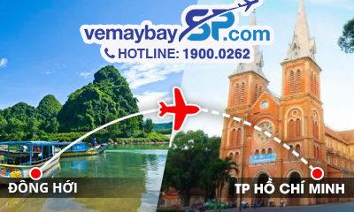 Vé máy bay Đồng Hới đi Hồ Chí Minh
