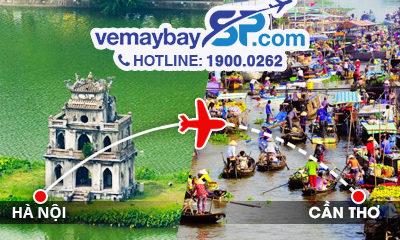 vé máy bay Hà Nội đi Cần Thơ