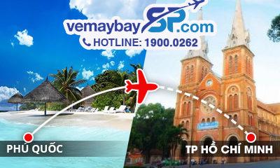 Vé máy bay Phú Quốc đi Hồ Chí Minh