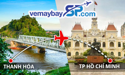 Vé máy bay Thanh Hóa đi Hồ Chí Minh