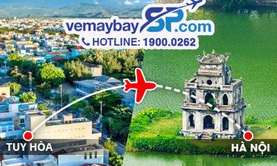 vé máy bay Tuy Hòa đi Hà Nội