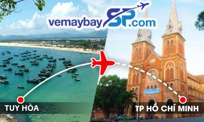 vé máy bay Tuy Hòa đi Hồ Chí Minh