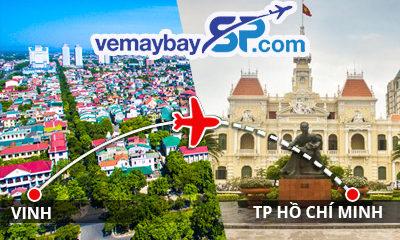 Vé máy bay Vinh đi Hồ Chí Minh