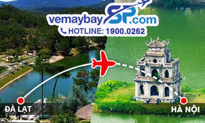 Vé máy bay Đà Lạt đi Hà Nội