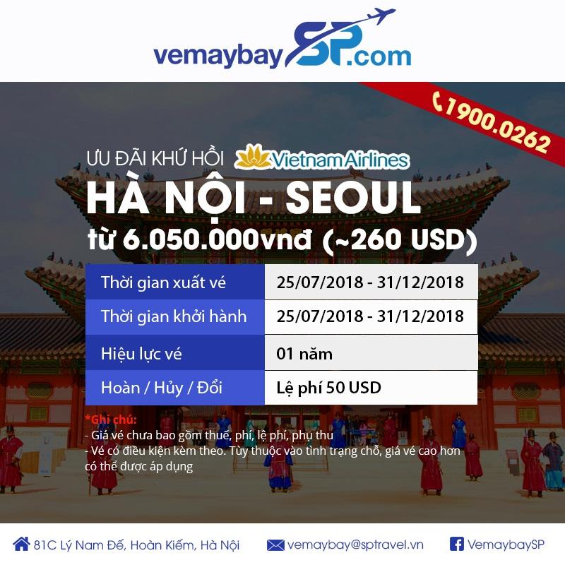 Vietnam Airlines khuyến mại