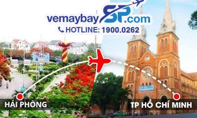 Vé máy bay Hải Phòng đi Hồ Chí Minh
