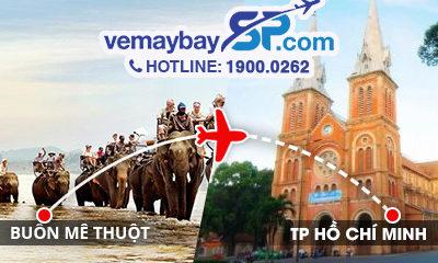 Vé máy bay Buôn Ma Thuột đi Sài Gòn