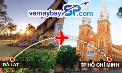 Vé máy bay Đà Lạt đi Hồ Chí Minh