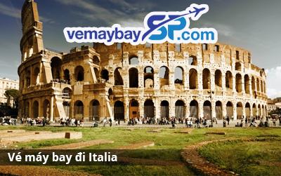 Vé máy bay đi Italia giá rẻ