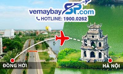 Vé máy bay Đồng Hới đi Hà Nội