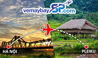 Vé máy bay Hà Nội đi Pleiku
