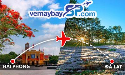 Vé máy bay Hải Phòng đi Đà Lạt