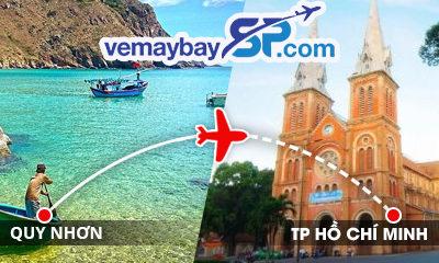 Vé máy bay Quy Nhơn đi Hồ Chí Minh