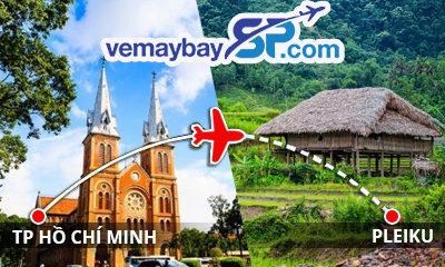 Vé máy bay Hồ Chí Minh đi Pleiku