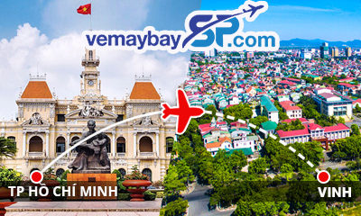 Vé máy bay Sài Gòn đi Vinh giá rẻ